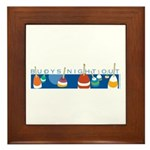 Buoys Night Out Framed Tile