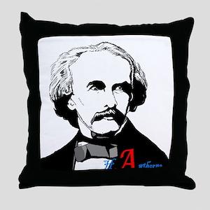 Hawthorne Scarlet Letter Throw Pillow