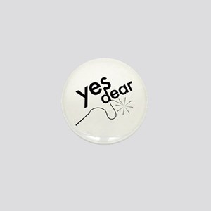 Yes Dear Mini Button