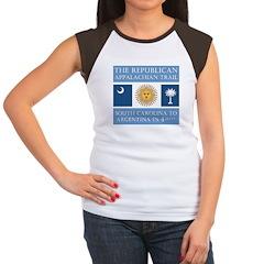 Appalachian Argentina Women's Cap Sleeve T-Shirt