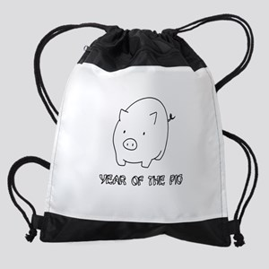 Year of the Pig - Chinese New Year Drawstring Bag