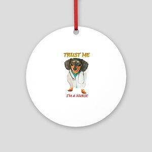 Nurse Dox Ornament (Round)