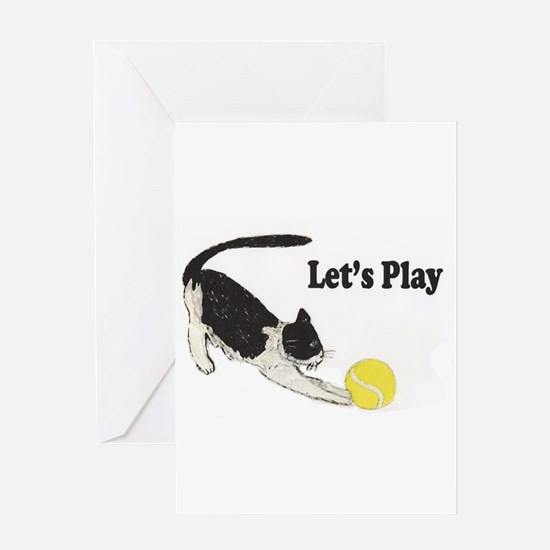 Lets Play Greeting Card