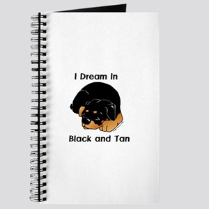 I Dream in Black and Tan Slee Journal