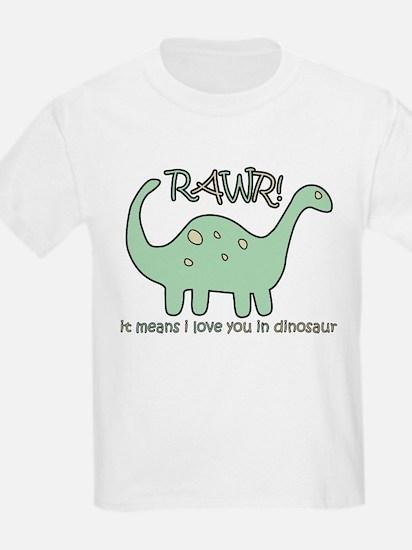 'Dinosaur Rawr' Kids T-Shirt