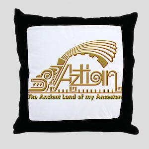 Aztlan-1 Throw Pillow