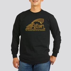 Aztlan-1 Long Sleeve Dark T-Shirt