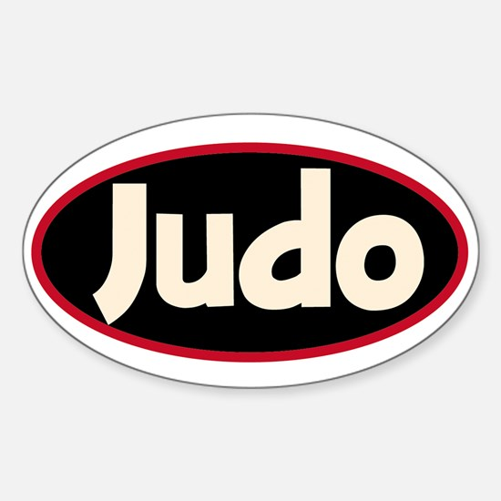 Judo Decal