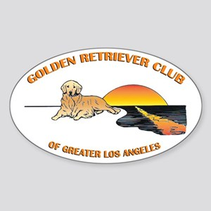 Golden Retriever Club of Greater L.A. Decal