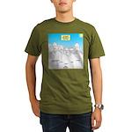 KNOTS Nod to Scouting Organic Men's T-Shirt (dark)