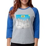 KNOTS Nod to Scouting Founders Womens Baseball Tee