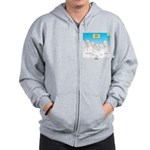 KNOTS Nod to Scouting Founders Zip Hoodie