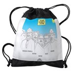 KNOTS Nod to Scouting Founders Drawstring Bag