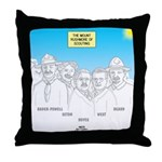 KNOTS Nod to Scouting Founders Throw Pillow