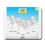 KNOTS Nod to Scouting Founders Mousepad
