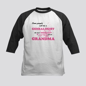 Some call me a Genealogist, the mo Baseball Jersey