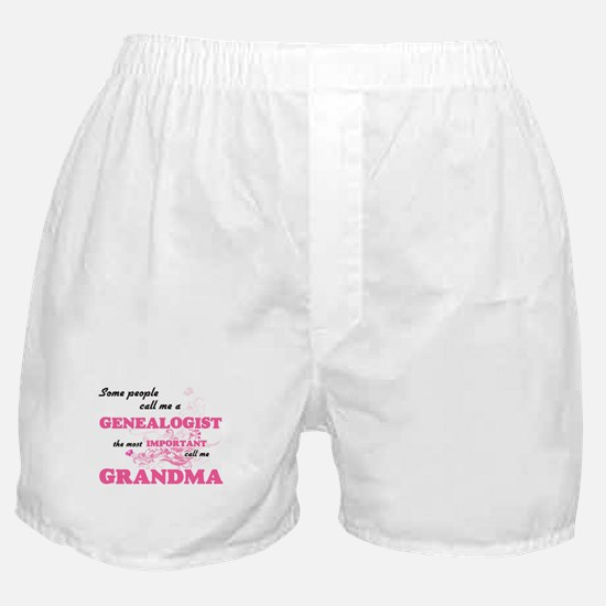 Some call me a Genealogist, the most Boxer Shorts
