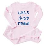 Let's Just Read Toddler Pink Pajamas