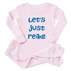 Let's Just Read Toddler Pink Pajamas