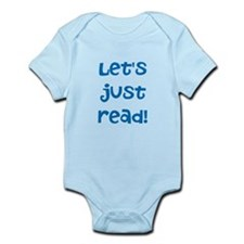 Let's Just Read Baby Body Suit