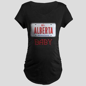 Alberta Baby Maternity Dark T-Shirt