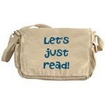 Let's Just Read Messenger Bag