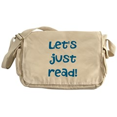 Let's Just Read Messenger Bag
