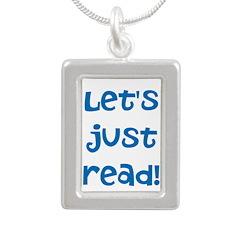 Let's Just Read Necklace Necklaces