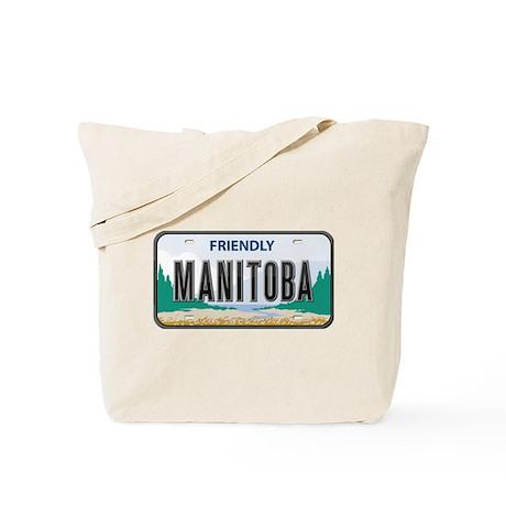 Manitoba Plate Tote Bag
