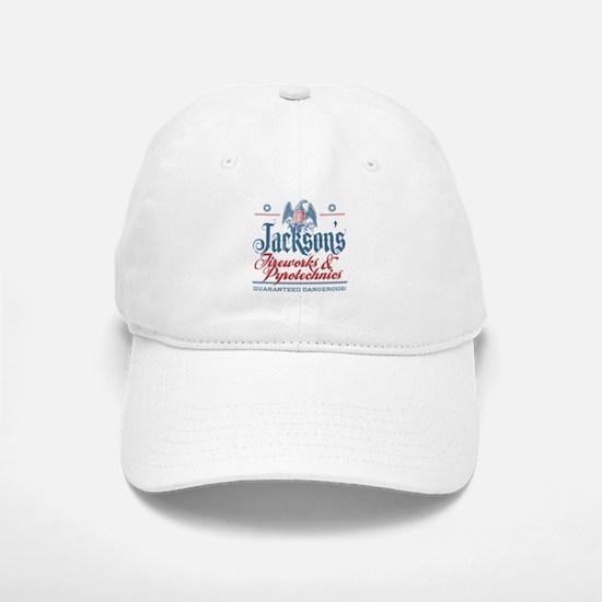 Jackson's Funny Fireworks Company Name Baseball Baseball Cap