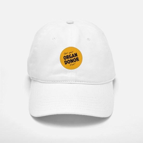 Organ Donor Dot Baseball Baseball Cap