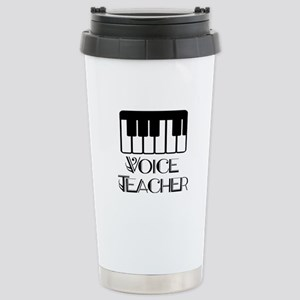 Voice Teacher Stainless Steel Travel Mug