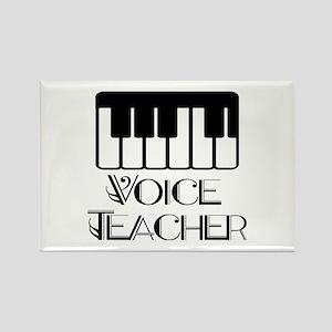 Voice Teacher Rectangle Magnet