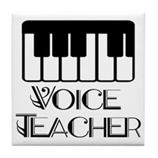 Voice Teacher Tile Coaster