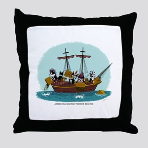 Boston Tea Party Throw Pillow