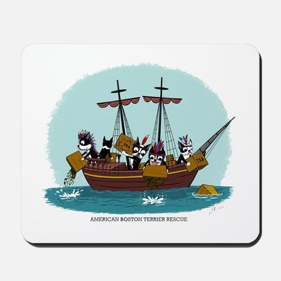 Boston Tea Party Mousepad