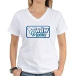 WDW Today Women's V-Neck T-Shirt