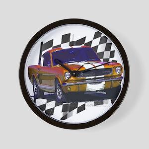 1966 Mustang Wall Clock