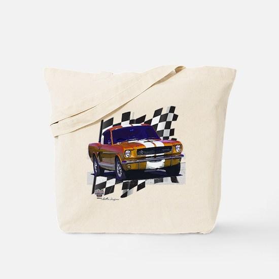 1966 Mustang Tote Bag