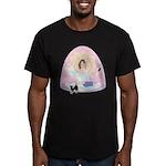 Busy Zen Mom Men's Fitted T-Shirt (dark)