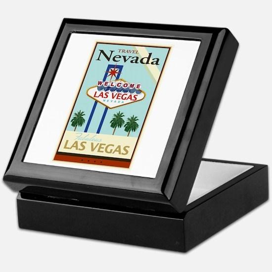 Travel Nevada Keepsake Box