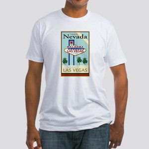 Travel Nevada Fitted T-Shirt