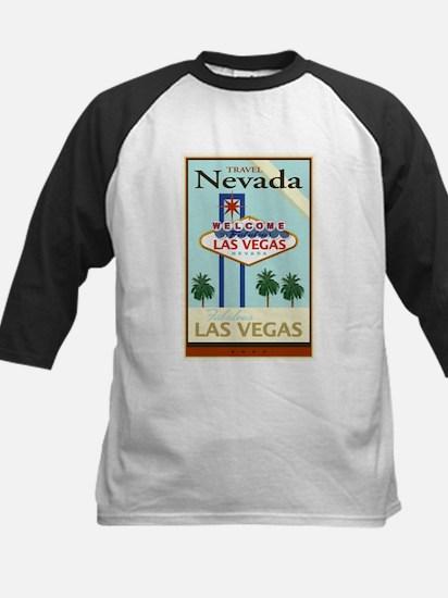 Travel Nevada Kids Baseball Jersey