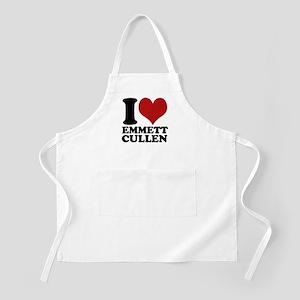 I Love Emmett Cullen BBQ Apron