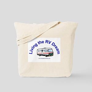 b51931c6f62f Living the RV Dream Tote Bag
