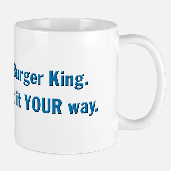 This is NOT Burger King Mug
