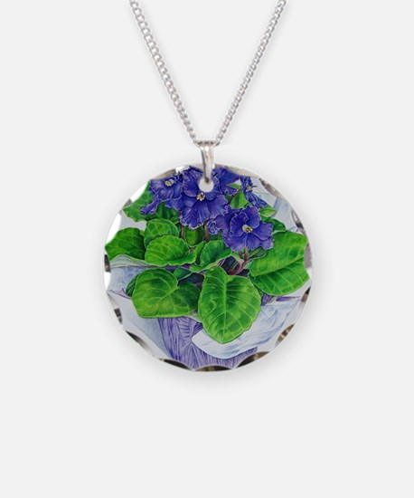 Cute Violet Necklace