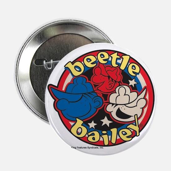 """Unique Beetle bailey 2.25"""" Button"""