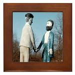 Davis-Marsh Handshake Framed Tile