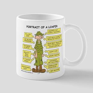 Portrait of a Loafer Mug